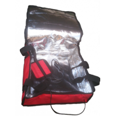 12V Insulated Heated Take Away Pizza Hot Food Delivery Bag 13X13X5