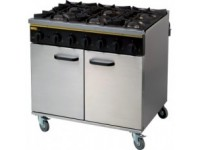 Buffalo 6 Burner Gas Oven